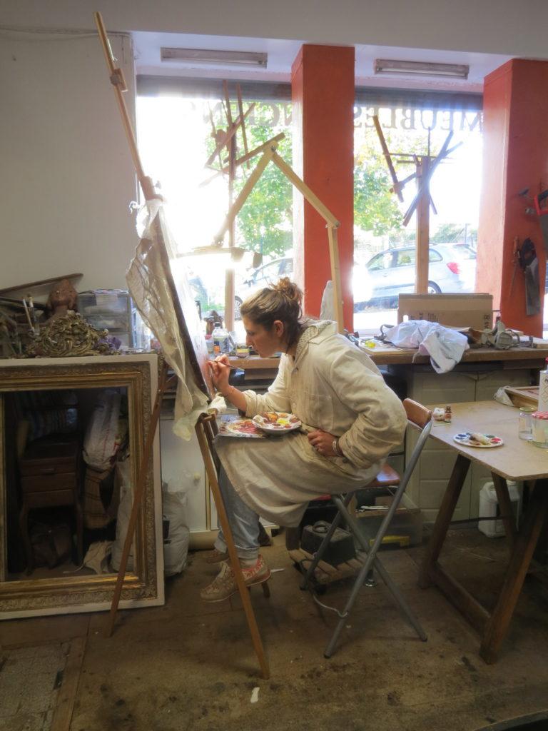 Charline Vendittelli - Restauratrice d'oeuvres d'art à Grenoble